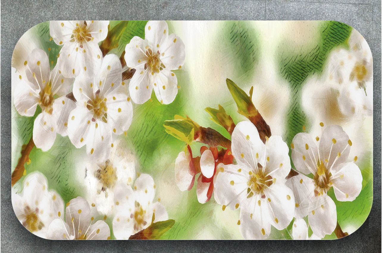 Table Decals - Spring sketches | Buy Table Decals in x-decor.comи