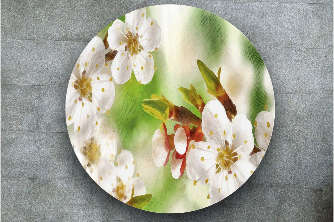 Table Decals - Spring sketches | Buy Table Decals in x-decor.com