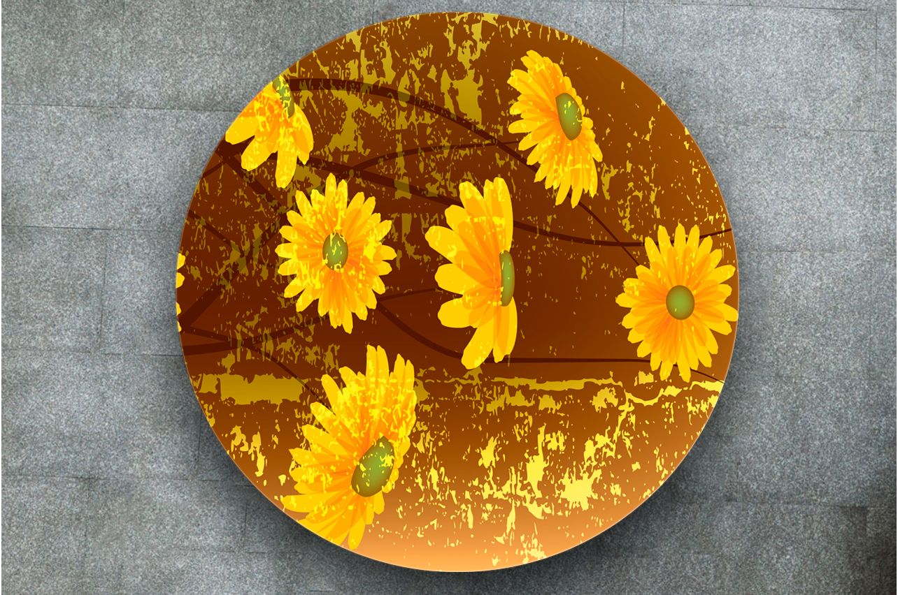 Table Decals - Ursinia | Buy Table Decals in x-decor.com