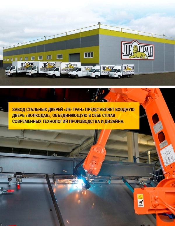российский завод стальные двери в москве