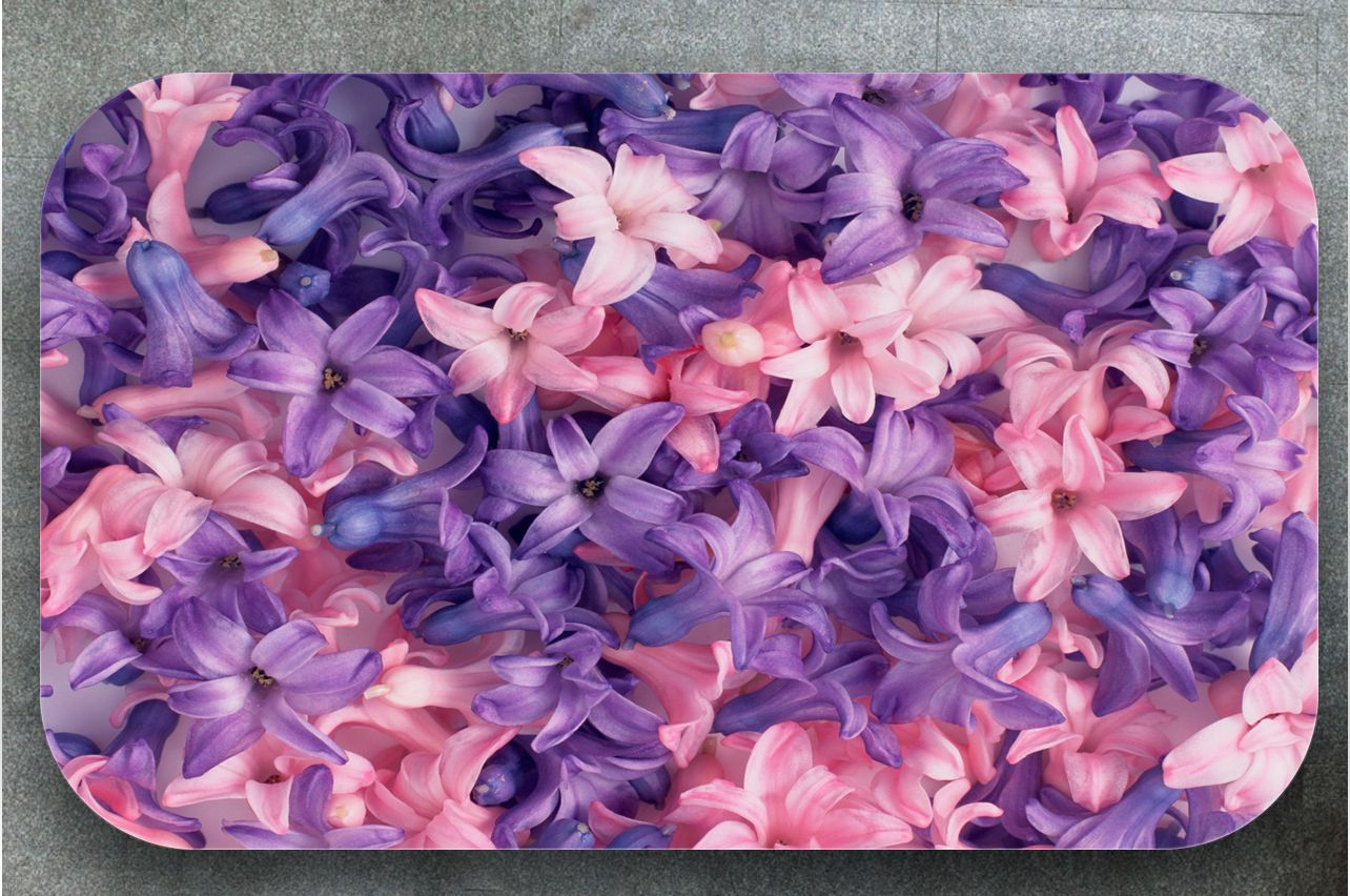 Table Decals - Hyacinths | Buy Table Decals in x-decor.comи