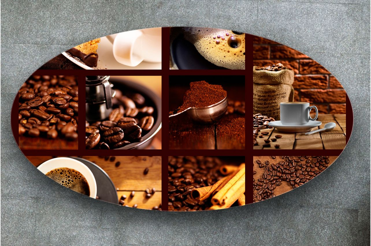 Table Decals - Coffee 3 | Buy Table Decals in x-decor.com