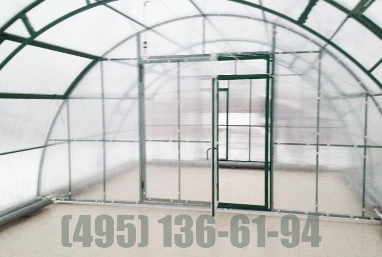 Фермерская теплица шириной 5,6 метров