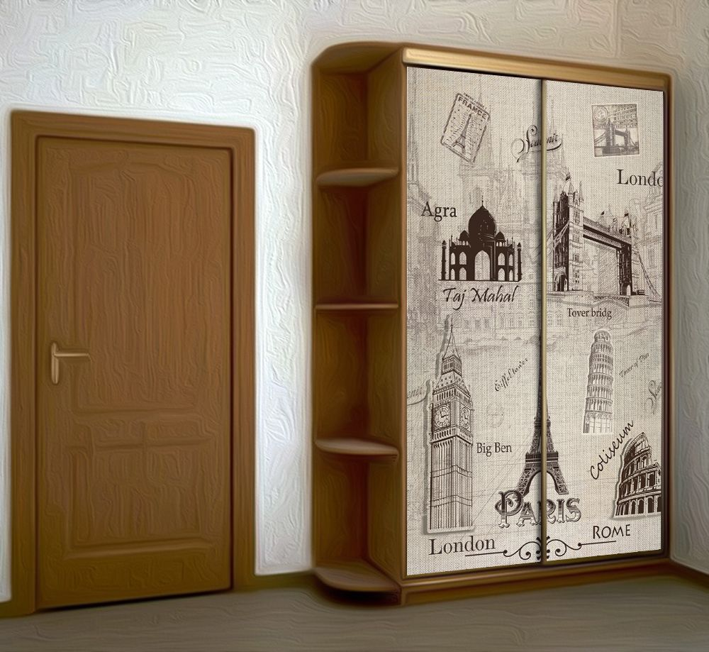 Wardrobe Stickers - Souvenir by X-Decor