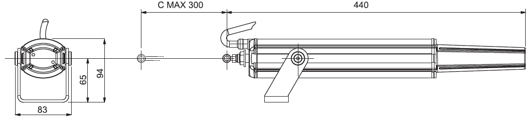 Штоковый привод ST-450 (APRIMATIC)
