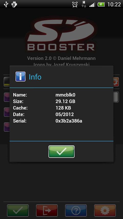 0x3b2a386a — это серийный номер карты памяти, он нам и нужен!