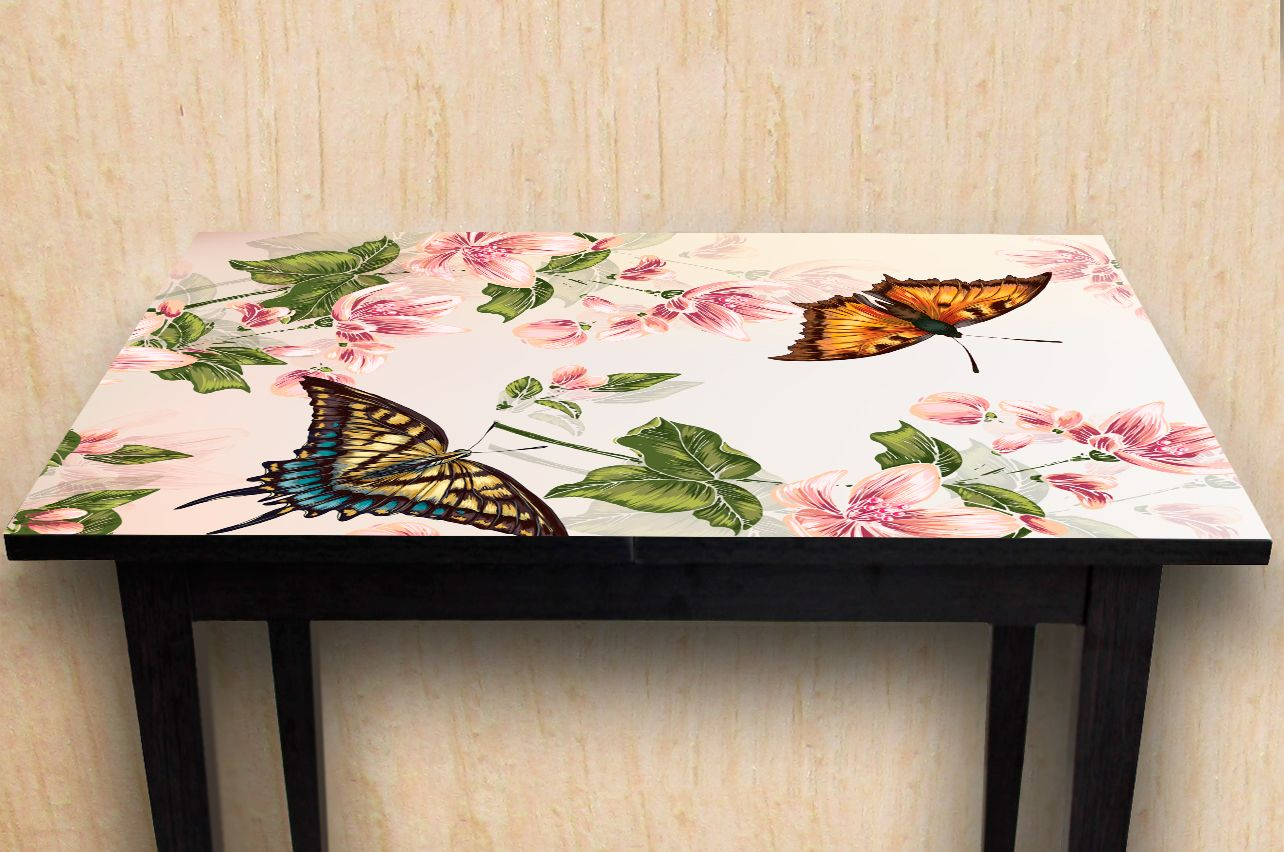 Stickers a Table - Floral-2 | Buy Table Decals in x-decor.com