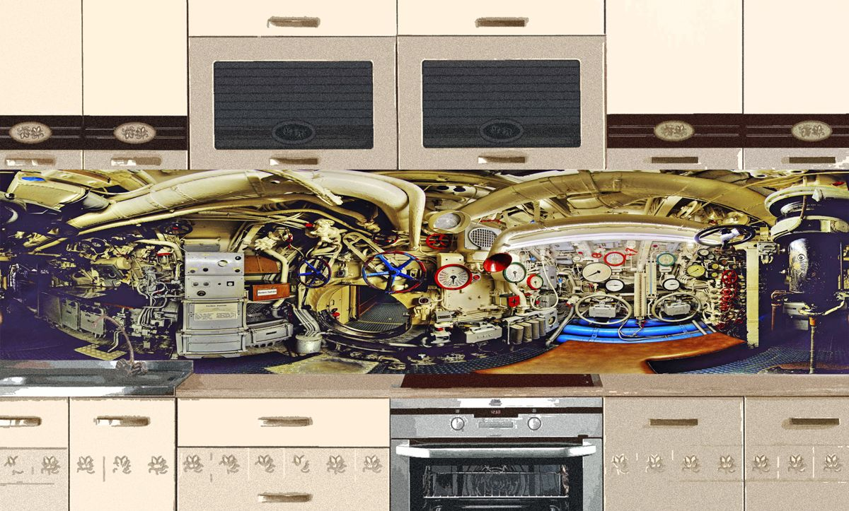 Kitchen Backsplash - Submarine