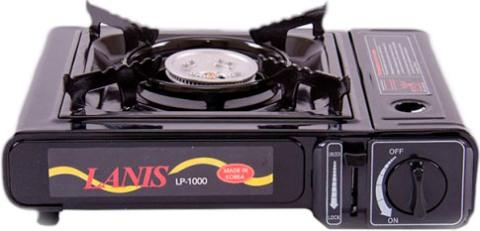 Портативная газовая плита Lanis LP-1000 - удобная и компактная форма