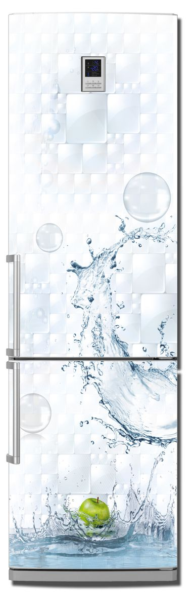 Fridge Skin - Splash by X-Decor