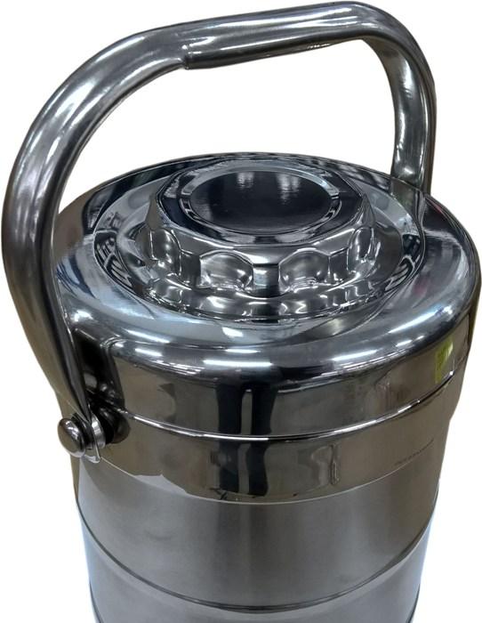 Термос Qiaoxin с контейнерами для еды - подвижная верхняя ручка