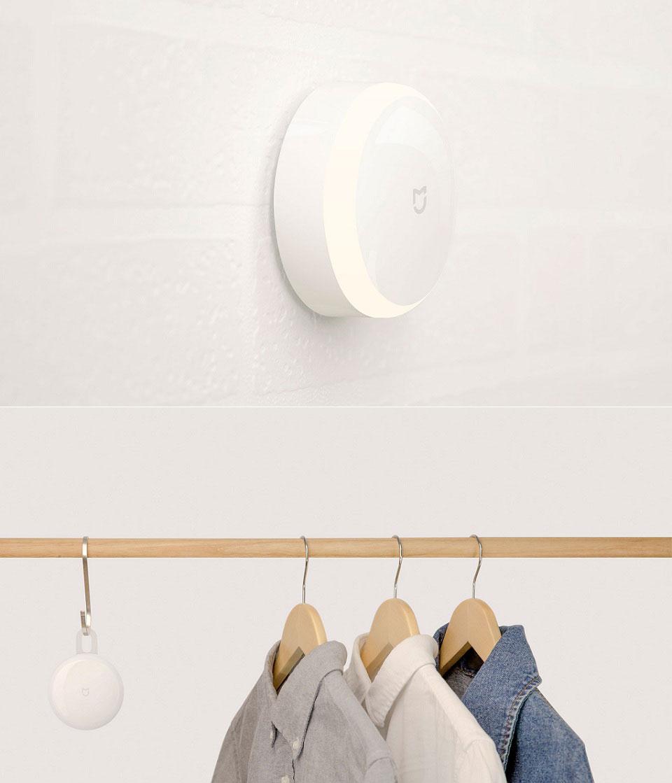 Ночная лампа MiJia Induction Night Light крепление на разные поверхности