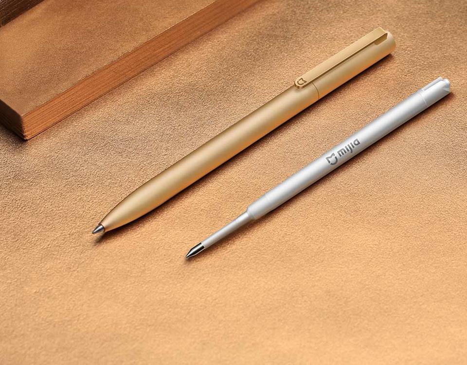 Сменный стержень Mijia for Metal Pen Refill с металлической ручкой