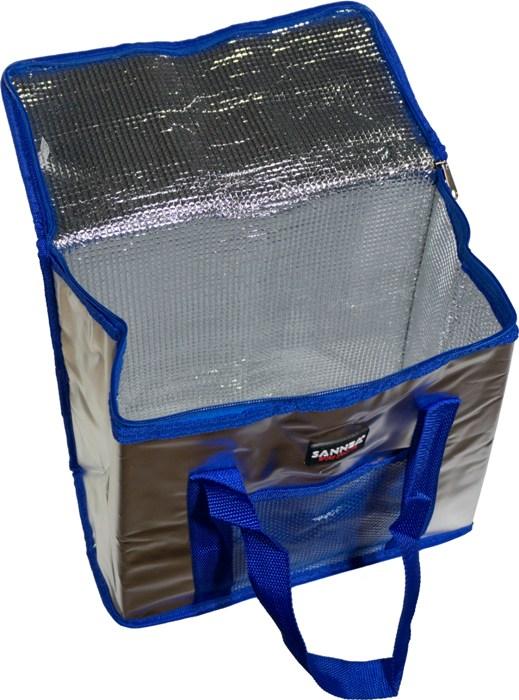Изотермическая термосумка Sanne Bag 15 литров - внутренний фольгированный материал