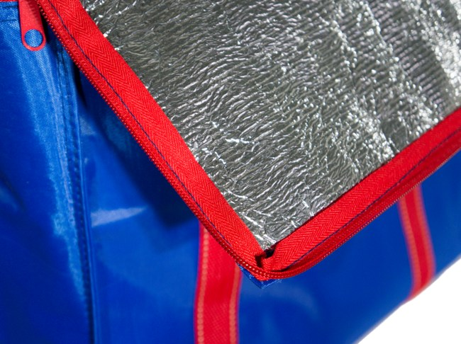 Изотермическая термосумка Cooler Bag 26 литров - материалы