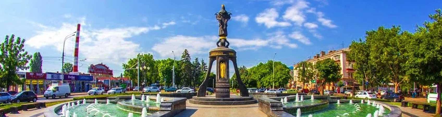 Краснодар - Памятник Святой великомученице Екатерине
