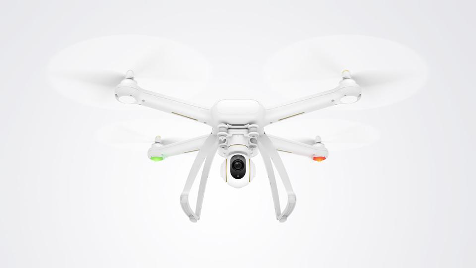 Mi drone 4К стильный и легкий