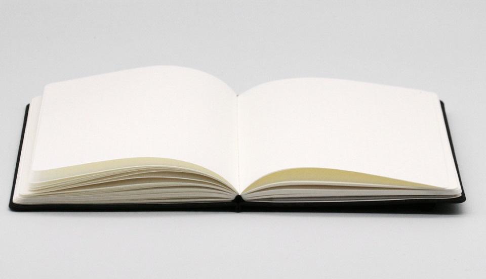 Записная книжка Mi Notepad Multifunctional в раскрытом виде
