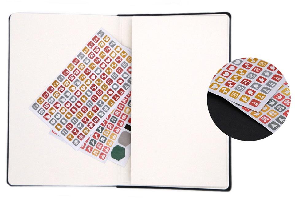 Записная книжка Mi Notepad Multifunctional листы с наклейками