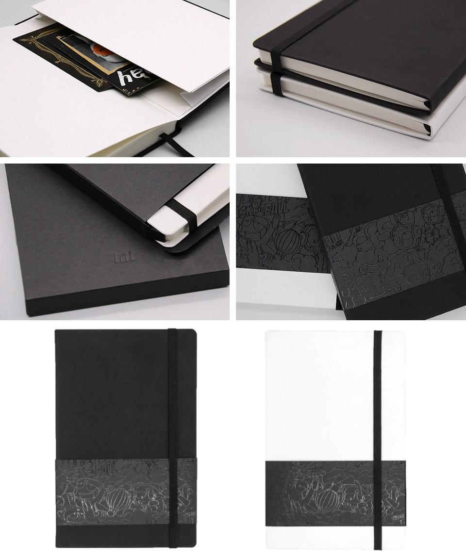 Записная книжка Mi Notepad Multifunctional текстура и особенности дизайна