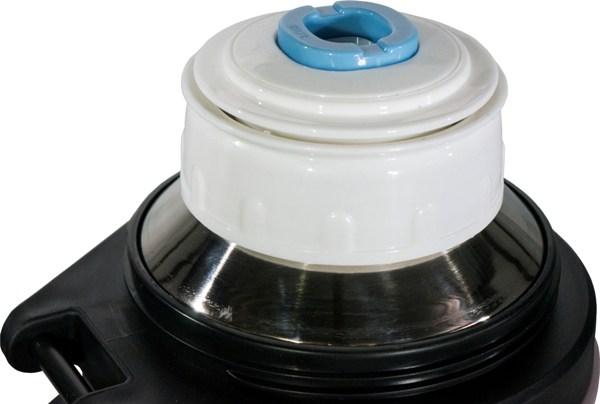 Термос Steel Drink 2,5 литра для напитков - пробка с кнопкой