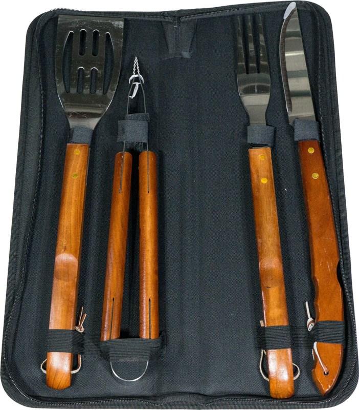 Набор для приготовления гриля Steel S-94 из 5 предметов - приборы