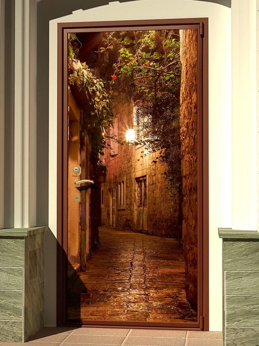 Наклейка на дверь - Во времена Дон Кихота | магазин Интерьерные наклейки