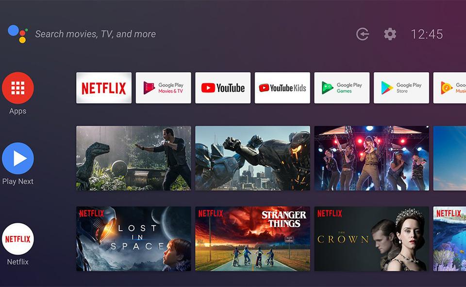 TV-Приставка Xiaomi Mi Box S International Edition платформа Android