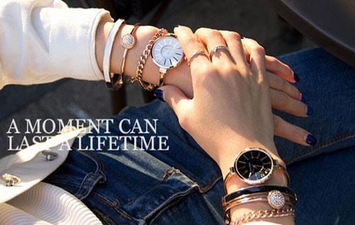 женские часы браслет