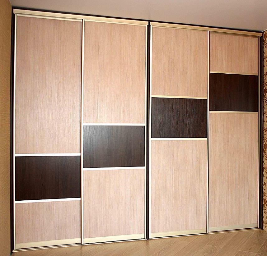 Распродажа встроенных шкафов купе с дверями