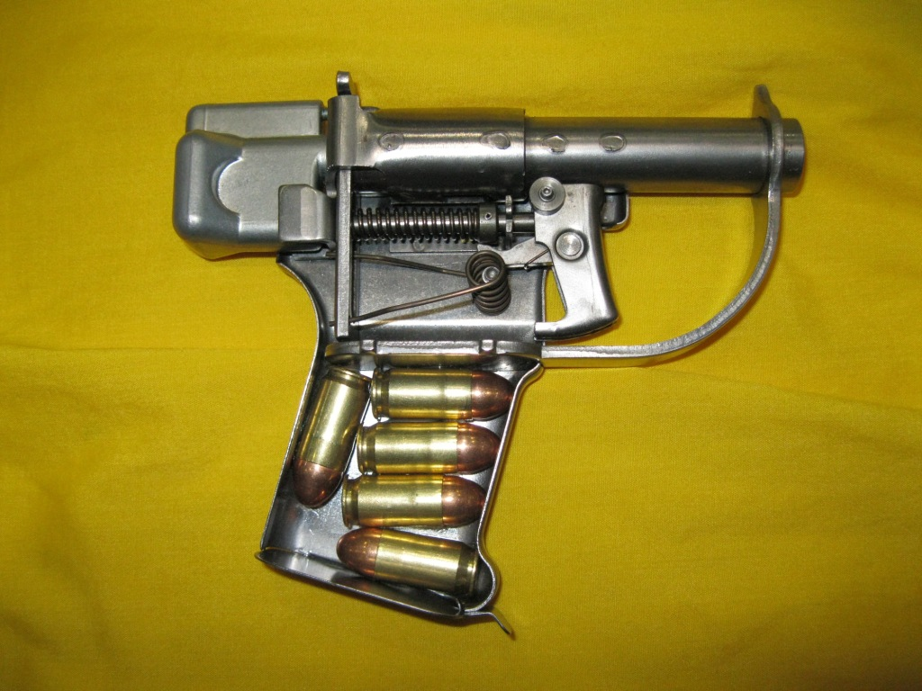 В 1942 году в США был разработан особый пистолет FP-45 Liberator (