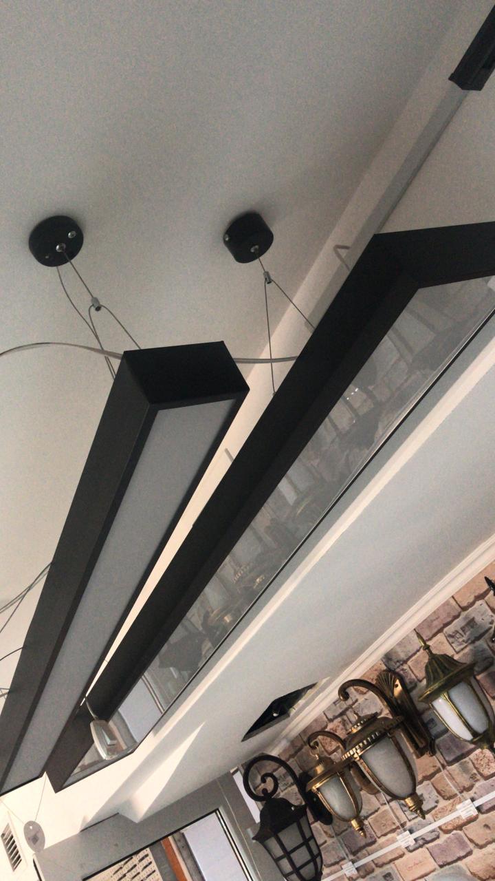 подвесной офисный светильник