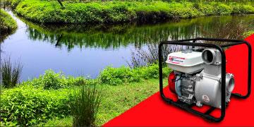 Мотопомпы DaiShin SST для перекачки загрязнённой воды