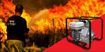 Мотопомпа DaiShin SCH5050HX высокого давления (пожарная мотопомпа)
