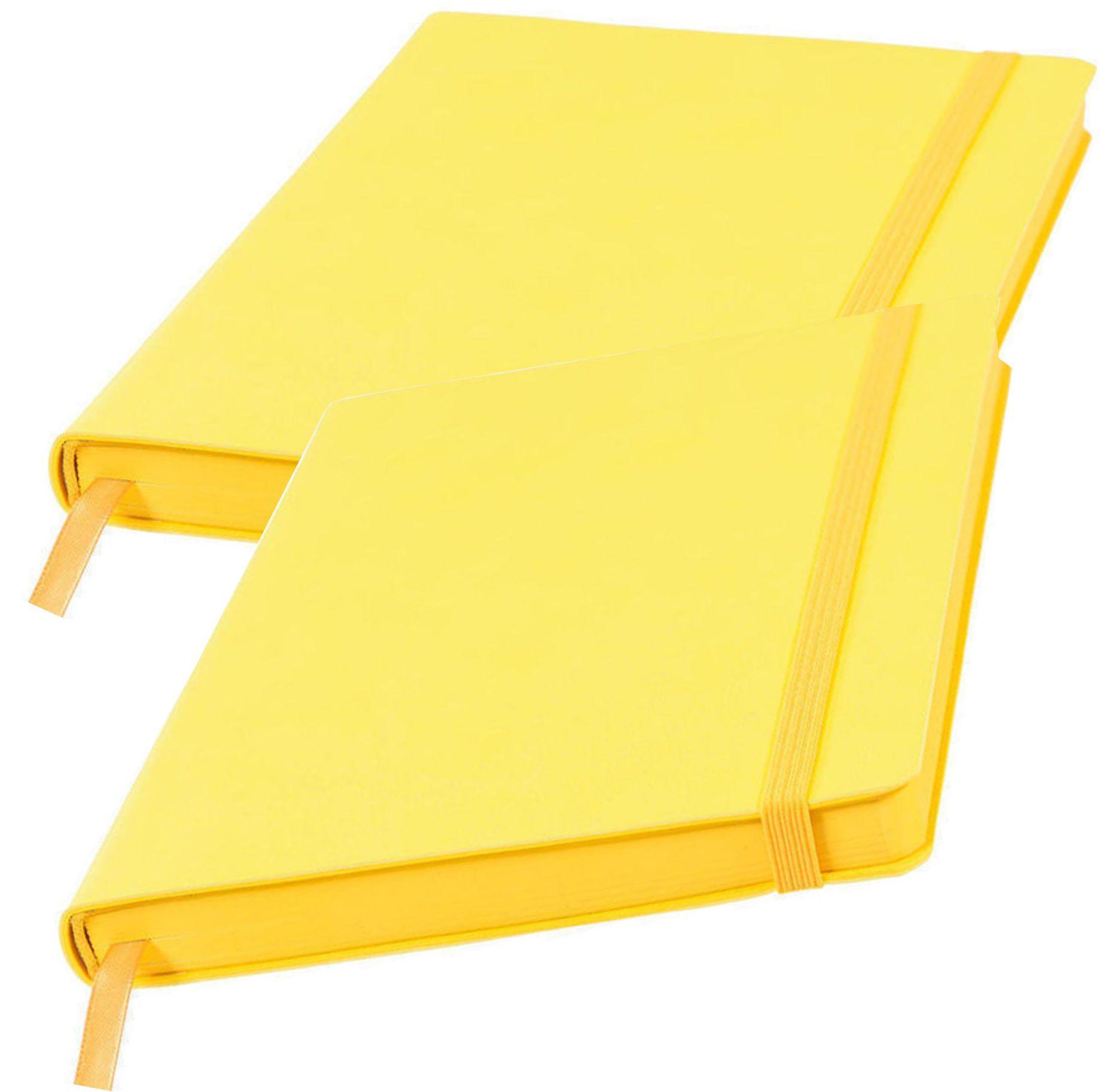 желтые ежедневники оптом
