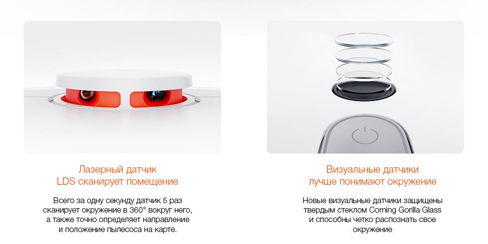 Робот-пылесос Xiaomi Mi Robot Vacuum Cleaner 1S(белый)