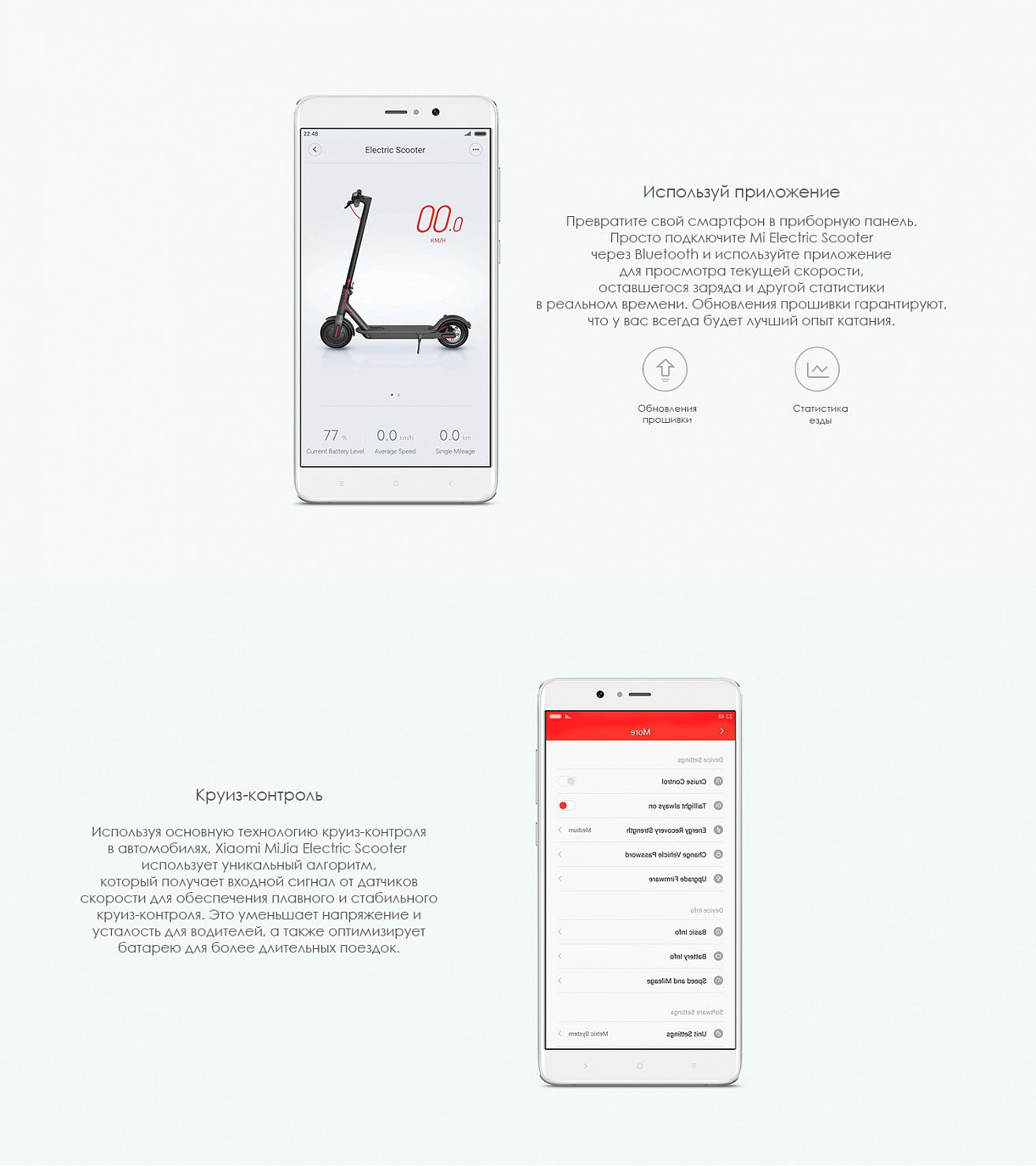 Электросамокат Xiaomi Mijia M187 купить на самовывозе