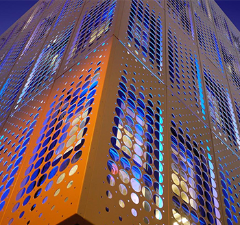 Фасадные металлокассеты