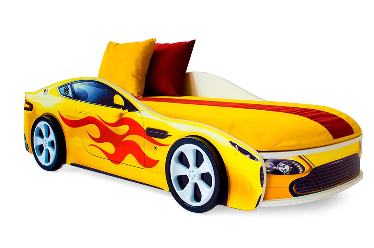 Желтый Бондмобиль