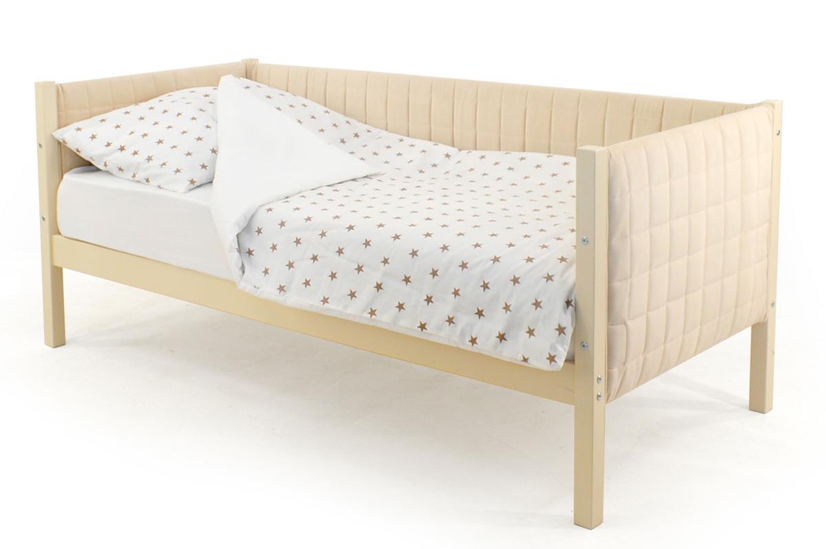 Кровать-тахта мягкая бежевый