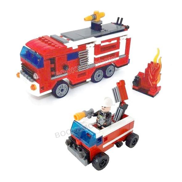 блокформерс пожарная машина