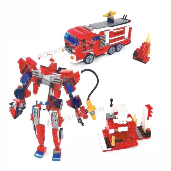 трансформер пожарный расчет блокформерс
