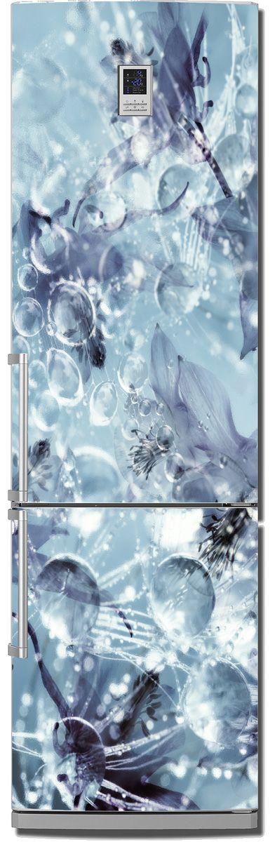 Наклейка на холодильник - ICE