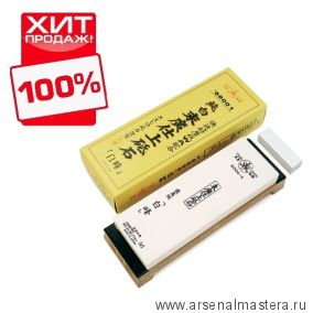 Заточной абразив 6000 Suehiro 206х73х23мм на подставке, с нагурой Suehiro белый MT 6000 М00014380 ХИТ!