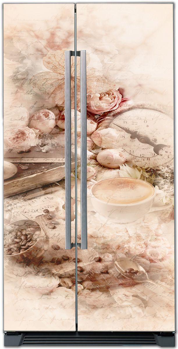 Наклейка на холодильник - Хорошего дня купить в магазине Интерьерные наклейки