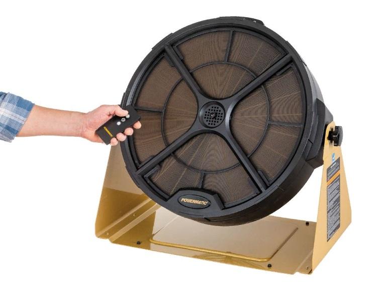 Powermatic PM1250 система фильтрации воздуха