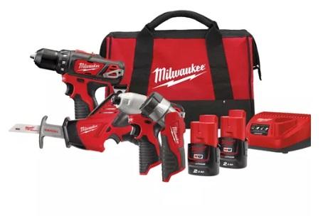 Набор инструментов Milwaukee М12 ВPP4А-202B 4933441240