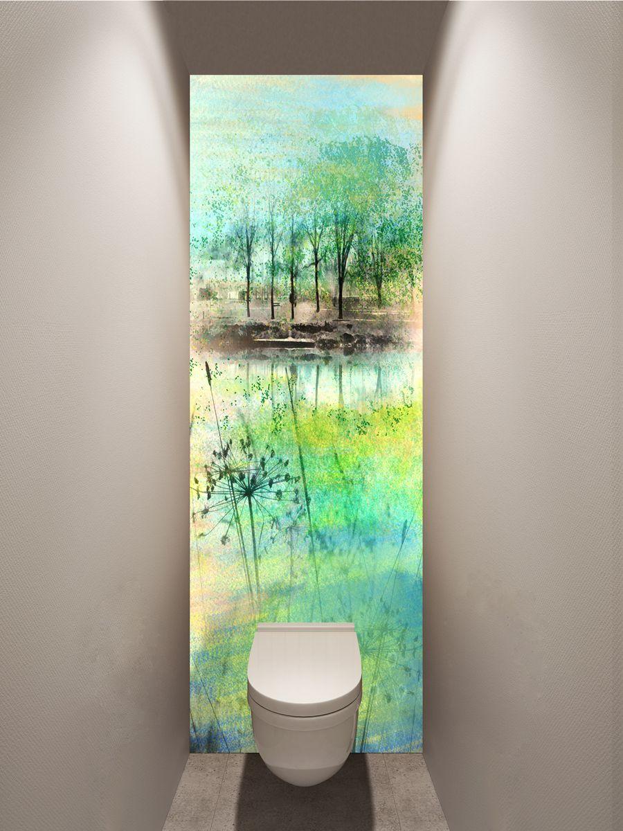 Фотообои в туалет - Ой! СЁёё, весна | магазин Интерьерные наклейки