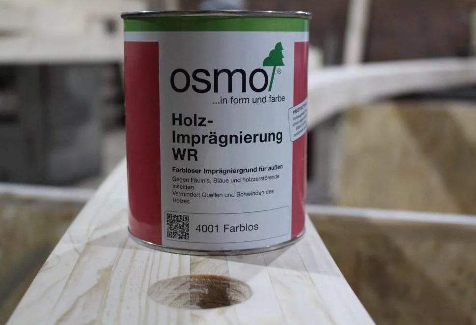 Защитная грунтовка антисептик  Holz-Impragnierung WR Osmo 4001
