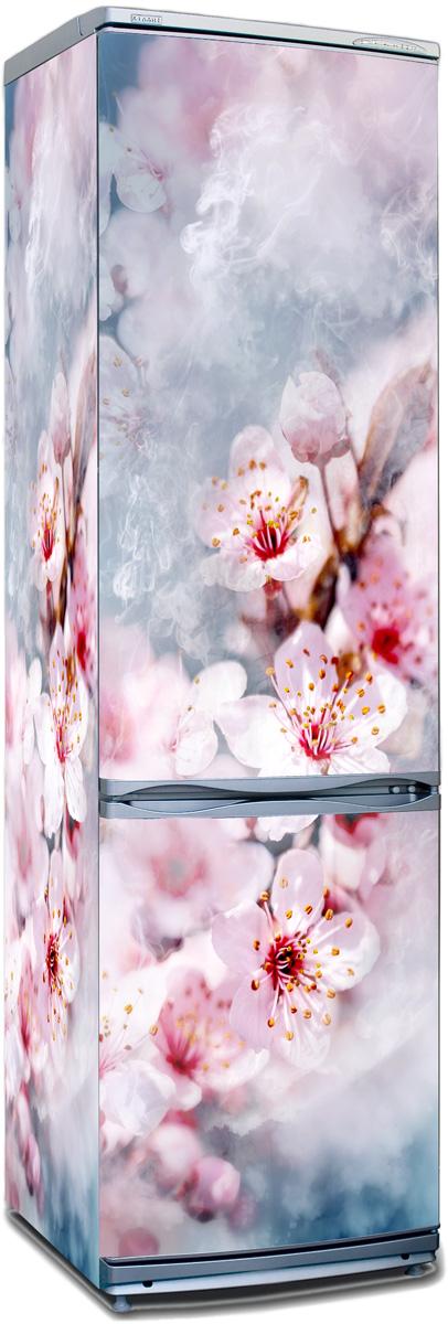 Наклейка на холодильник - Воздух пропитан нежностью | магазин Интерьерные наклейки
